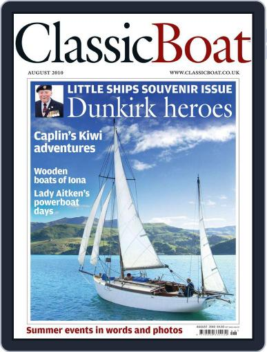 Classic Boat (Digital) August 1st, 2010 Issue Cover