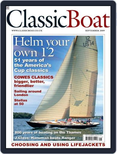 Classic Boat (Digital) August 19th, 2009 Issue Cover
