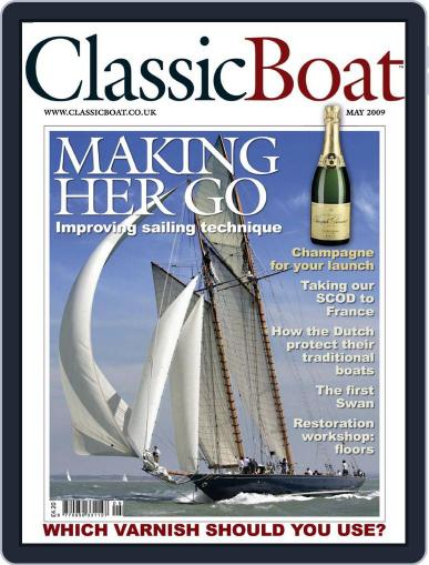 Classic Boat (Digital) April 16th, 2009 Issue Cover