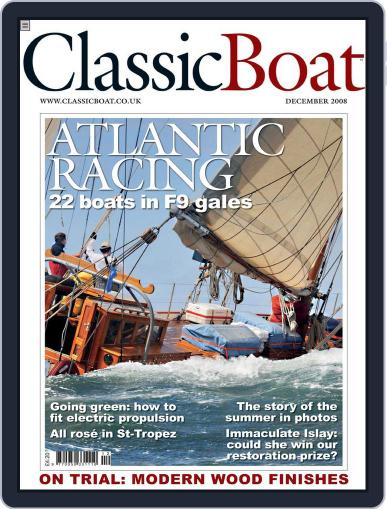 Classic Boat (Digital) November 18th, 2008 Issue Cover