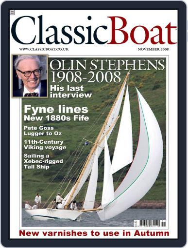 Classic Boat (Digital) October 17th, 2008 Issue Cover