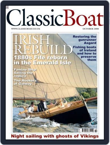 Classic Boat (Digital) September 19th, 2008 Issue Cover