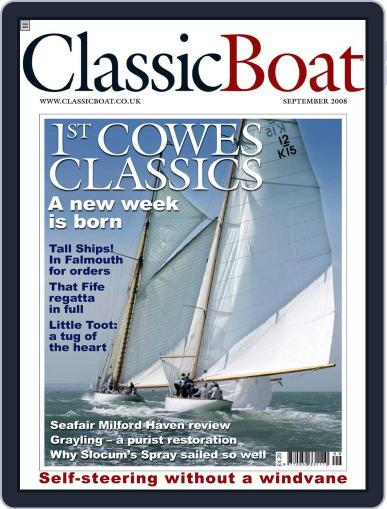 Classic Boat (Digital) August 29th, 2008 Issue Cover