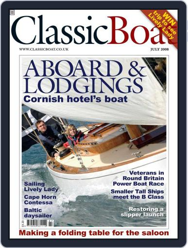 Classic Boat (Digital) June 24th, 2008 Issue Cover