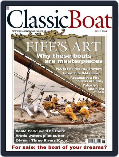Classic Boat (Digital) May 14th, 2008 Issue Cover