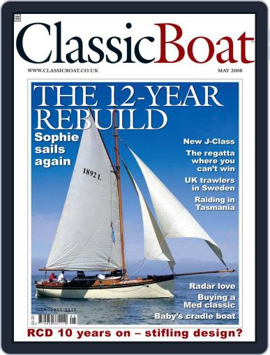 Classic Boat (Digital) April 16th, 2008 Issue Cover