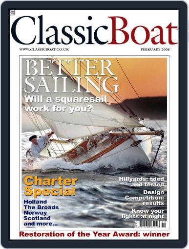 Classic Boat (Digital) January 16th, 2008 Issue Cover