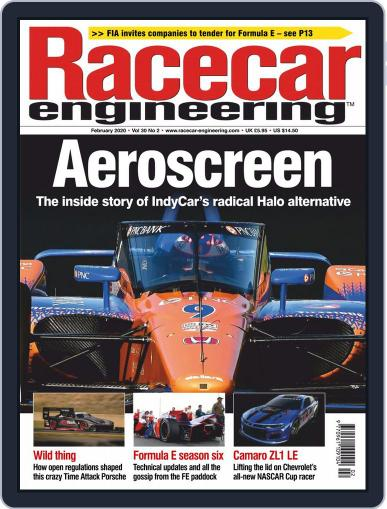 Racecar Engineering (Digital) February 1st, 2020 Issue Cover