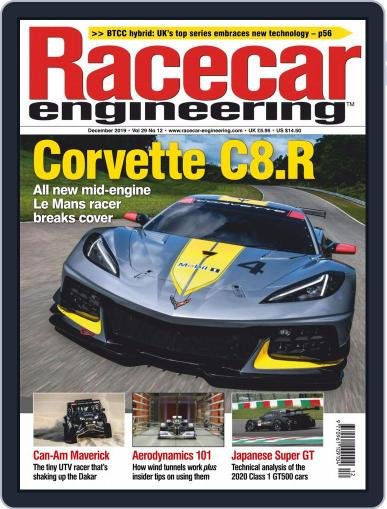 Racecar Engineering (Digital) December 1st, 2019 Issue Cover