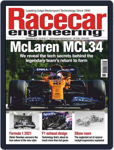 Racecar Engineering (Digital) November 1st, 2019 Issue Cover