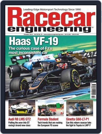 Racecar Engineering (Digital) October 1st, 2019 Issue Cover