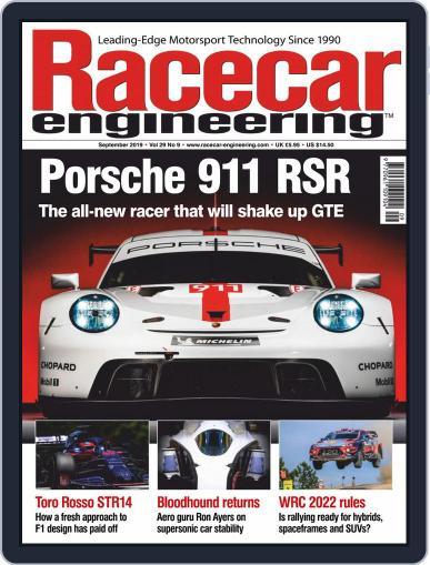 Racecar Engineering (Digital) September 1st, 2019 Issue Cover