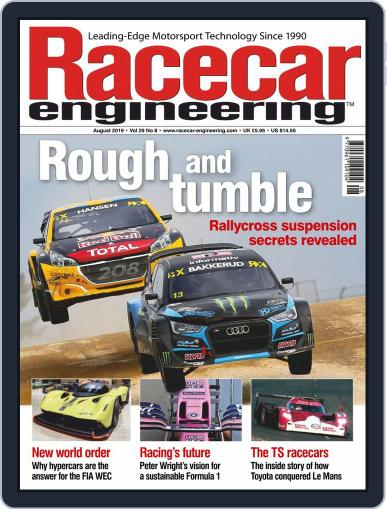 Racecar Engineering (Digital) August 1st, 2019 Issue Cover