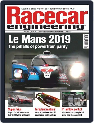 Racecar Engineering (Digital) July 1st, 2019 Issue Cover