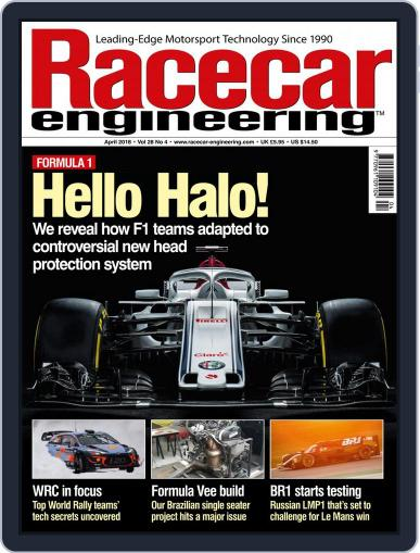 Racecar Engineering (Digital) April 1st, 2018 Issue Cover