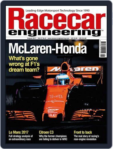 Racecar Engineering (Digital) August 1st, 2017 Issue Cover