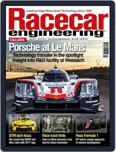 Racecar Engineering (Digital) July 1st, 2017 Issue Cover