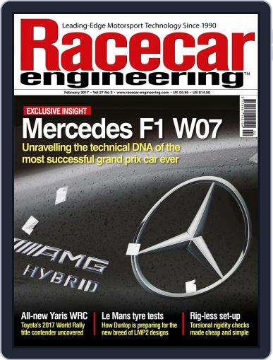 Racecar Engineering (Digital) February 1st, 2017 Issue Cover