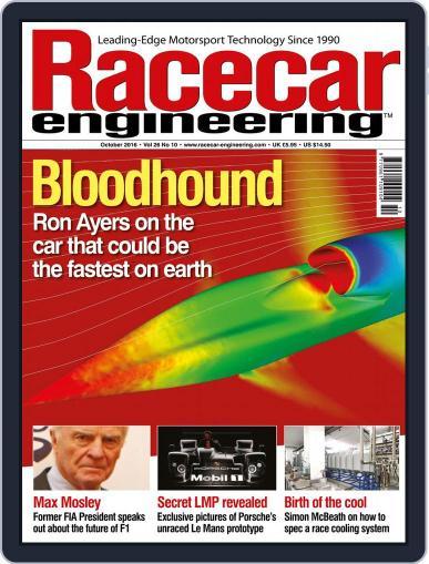 Racecar Engineering (Digital) October 1st, 2016 Issue Cover