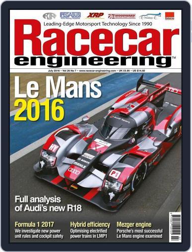 Racecar Engineering (Digital) June 3rd, 2016 Issue Cover