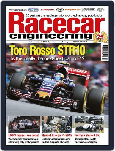 Racecar Engineering (Digital) September 1st, 2015 Issue Cover