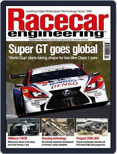 Racecar Engineering (Digital) November 6th, 2014 Issue Cover