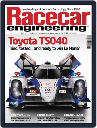 Racecar Engineering (Digital) May 1st, 2014 Issue Cover