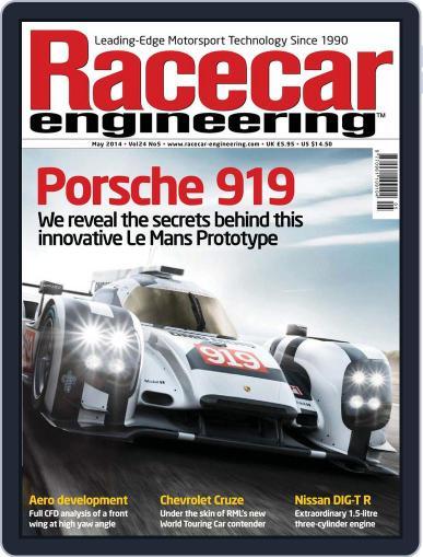Racecar Engineering (Digital) April 3rd, 2014 Issue Cover