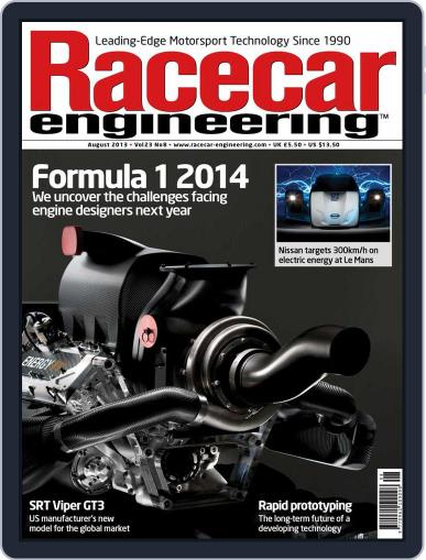 Racecar Engineering (Digital) July 10th, 2013 Issue Cover