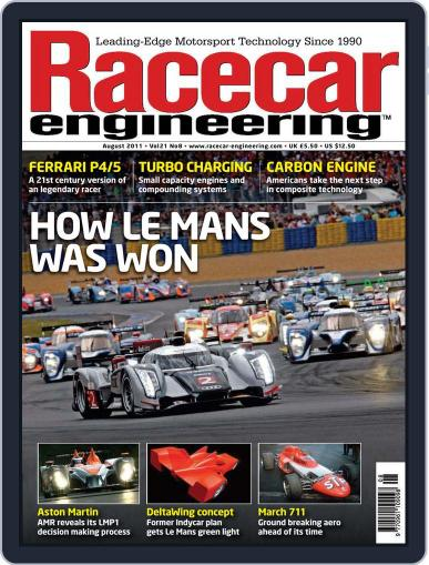 Racecar Engineering (Digital) July 7th, 2011 Issue Cover