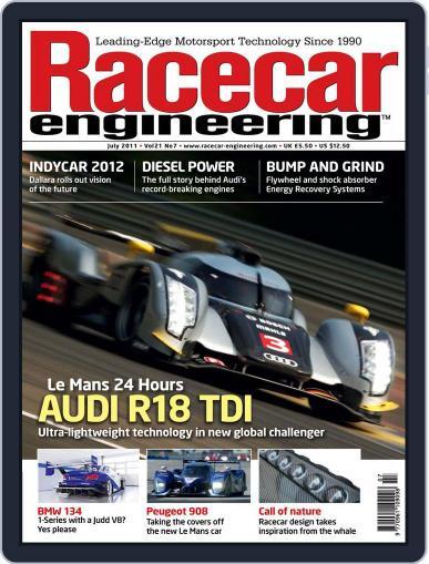 Racecar Engineering (Digital) June 9th, 2011 Issue Cover