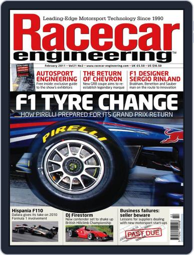 Racecar Engineering (Digital) January 13th, 2011 Issue Cover