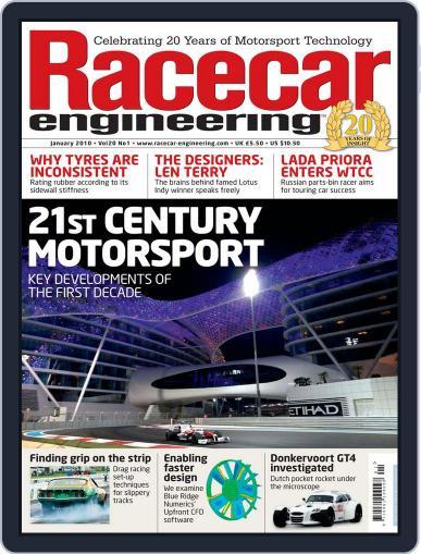 Racecar Engineering (Digital) December 15th, 2009 Issue Cover