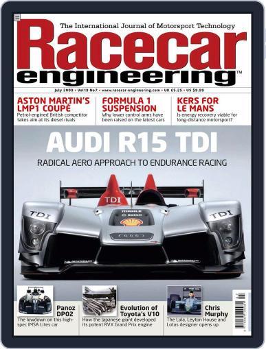 Racecar Engineering (Digital) June 24th, 2009 Issue Cover