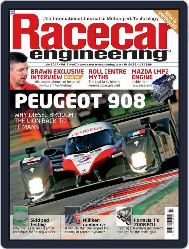Racecar Engineering (Digital) June 8th, 2007 Issue Cover