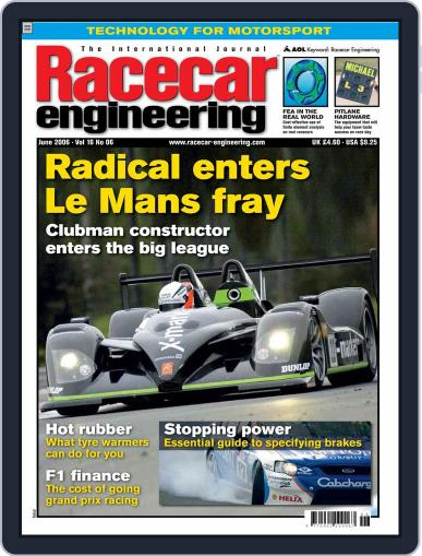Racecar Engineering (Digital) May 12th, 2006 Issue Cover