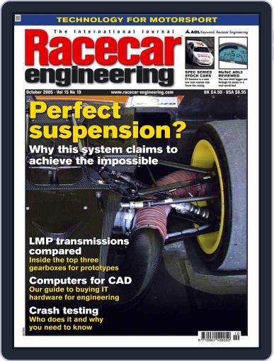 Racecar Engineering (Digital) September 13th, 2005 Issue Cover