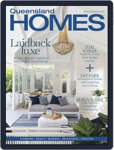 Queensland Homes August 1st, 2019 Digital Back Issue Cover
