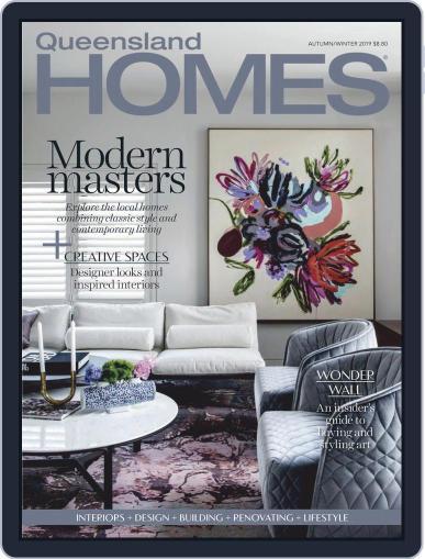 Queensland Homes April 1st, 2019 Digital Back Issue Cover