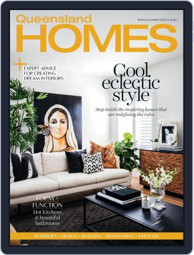 Queensland Homes October 1st, 2018 Digital Back Issue Cover