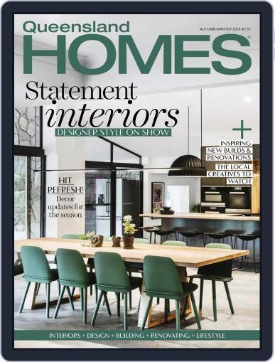 Queensland Homes April 1st, 2018 Digital Back Issue Cover