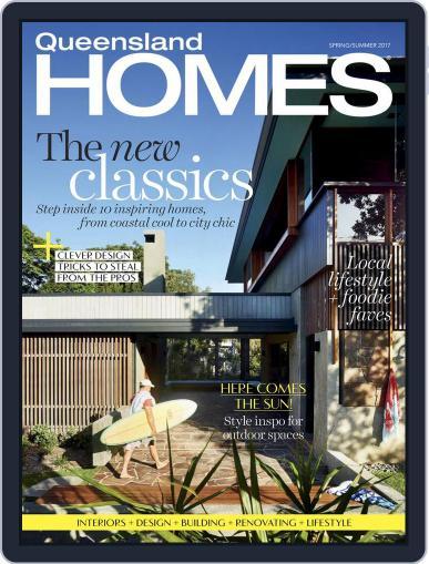 Queensland Homes September 1st, 2017 Digital Back Issue Cover