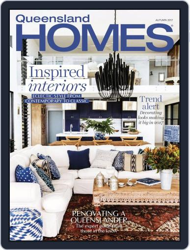 Queensland Homes January 1st, 2017 Digital Back Issue Cover