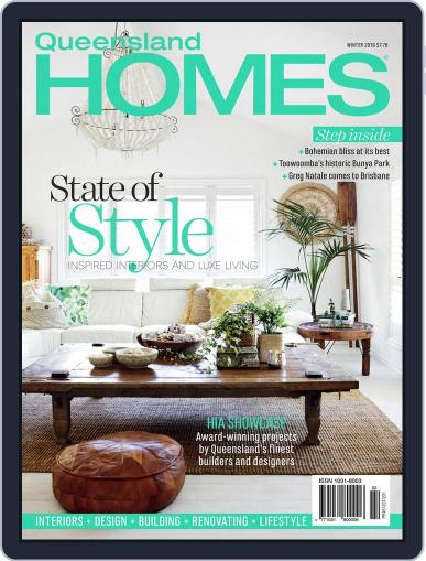 Queensland Homes May 7th, 2016 Digital Back Issue Cover