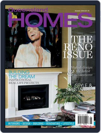 Queensland Homes February 8th, 2016 Digital Back Issue Cover