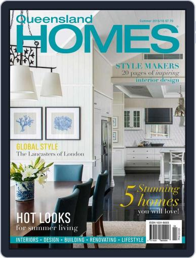 Queensland Homes November 9th, 2015 Digital Back Issue Cover