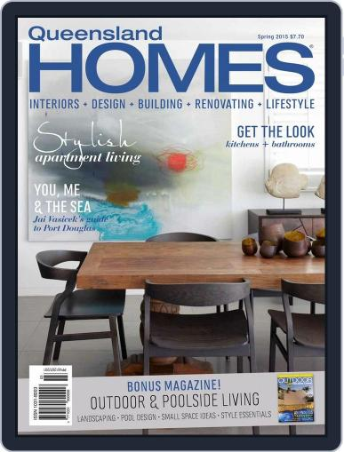 Queensland Homes August 5th, 2015 Digital Back Issue Cover