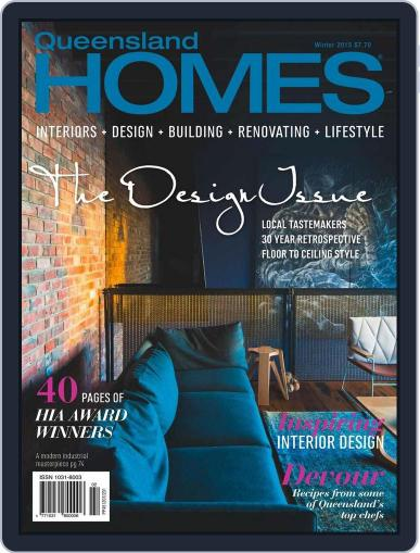 Queensland Homes May 7th, 2015 Digital Back Issue Cover