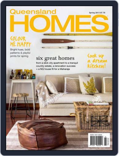 Queensland Homes September 12th, 2013 Digital Back Issue Cover