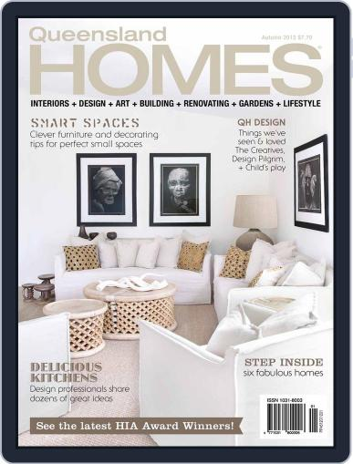 Queensland Homes March 15th, 2013 Digital Back Issue Cover